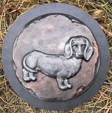 Doxie dachshund mold plaster concrete abs plastic dog mold