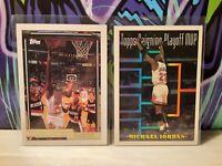 Michael Jordan 92-93 Topps Gold + 30 card Chicago Bulls mixed lot Scottie Pippen