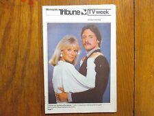 Oct. 3,-1982 Minneapolis Tribune TV Mag(LINDA EVANS/VICTOR KIAM/BRUCE BOXLEITNER
