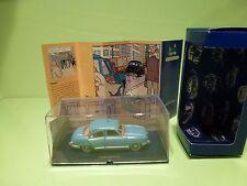 TINTIN HERGE 55  PANHARD DYNA Z 1954 TAXI - COKE EN STOCK 1958 - MINT IN BOX