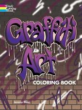 Graffiti Art Coloring Book: By Elder, Jeremy