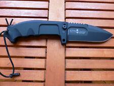 Extrema Ratio Taschenmesser Panthera Satiniert Schwarz 24,7cm Klappmesser
