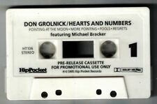1985 DON GROLNICK HEARTS & NUMBERS WITH MICHAEL BRECKER PRE-RELEASE CASSETTE