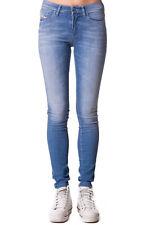 RRP €140 DIESEL W25 L32 Women's Skinzee 0839P STRETCH Faded Slim Skinny Jeans