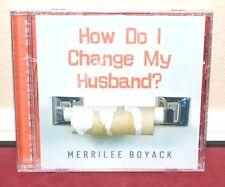*New* How Do I Change My Husband? Audio Book CD by Merrilee Boyack LDS Mormon