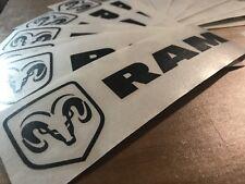 Dodge Ram Vinyl Sticker Decal, Logo, Auto Graphics, Mopar Hemi SRT Rebel