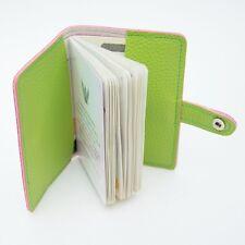 SOFT GREEN TEA MILK LEATHER PASSPORT HOLDER CASE COVER BAG WALLET TICKET FASHION