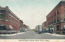 PERRY IA – Second Street looking North