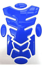 Transformer Electric Blue 3D Resin Domed Resin Tank Pad + 4 Oval Pads