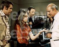 The Bionic Woman (TV) Lee Majors, Lindsay Wagner, Richard Anderson 10x8 Photo