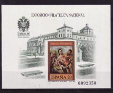 Spanje, Michel Blok 34, ONGETAND(Imperf.), postfris,Edifil Prueba nr.19