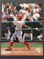 JOHNNY ESTRADA PHILLIES SIGNED 8X10 PHOTO AUTO AUTOGRAPH PHILADELPHIA PHILLIES