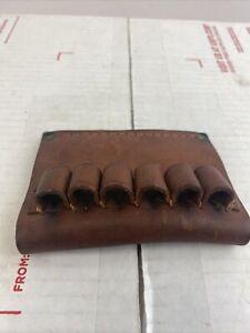 Hunter Leather Ammo Ammunition Cartridge Holder #645