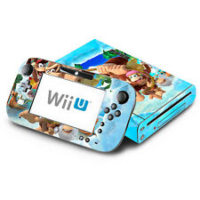Skin Decal Cover for Nintendo Wii U & GamePad - Donkey Kong Country Returns 2