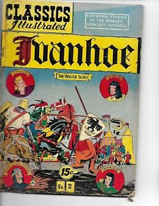 Classics Illustrated  #2  Ivanhoe  hrn 121