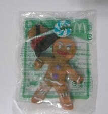 RARE FOREIGN McDonalds 2010 Chatter Changer Gingy Gingerbread Man Toy #5 Shrek