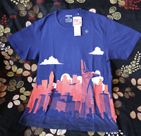 MARVEL × UNIQLO UTGP 2018 Graphic Men's T-SHIRT Spider-man Tower Blue  F/S T3