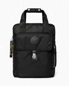 Dr Martens Flight Nylon Large Backpack Black