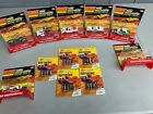 Vintage ideal mini motorific slot cars lot of 7 with some batteries packs RARE F