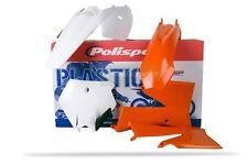 Polisport Plástico KIT PARA KTM SX 85 2006-2012 OEM 11-12 Naranja + Blanco 90451