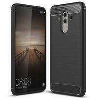 Hülle Carbon für Huawei Mate 10 Pro Schutzhülle Handy Case Hybrid TPU Cover