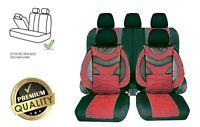 Komplettset Schonbezüge Kunstleder Rot Premium Bezüge Komfort Neu passend für