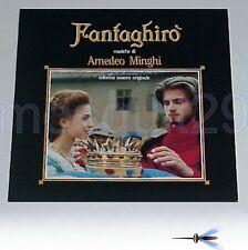 "AMEDEO MINGHI ""FANTAGHIRO'"" RARO LP 1991 ROSSANA CASALE"