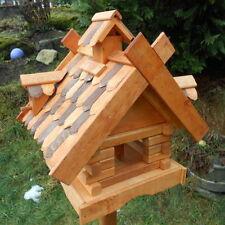 Stehende Vogelfutterstation für Vogelhäuser aus Holz