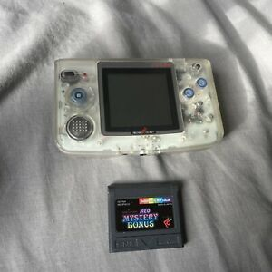Neo Geo Pocket Color Console Clear Crystal With Mystery Bonus Game
