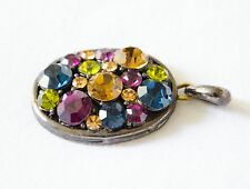 Gorgeous pendant in multicolored stones jewelry on sale !!