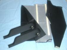 1970-72 cutlass 442  2 pin stile sun visors & headliner black non perforated