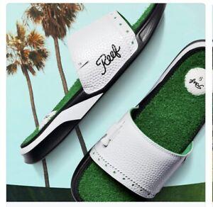 Reef Mulligan Slide Golf Sandal Cameron Vokey men size 11 nib SOLD OUT