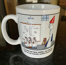 THE FAR SIDE Not Exactly ROCKET SCIENTISTS Coffee Cup Mug Tea 1993 Gary Larson