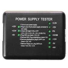 ATX SATA PSU HDD herramientas de diagnostico de fuente de alimentacion para  A7