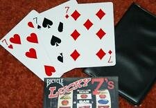 Lucky Sevens -- Bicycle poker -- simple but effective monte routine         TMGS