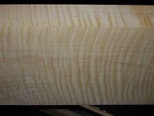 "8/4 SUPER HEAVY CURLY TIGER MAPLE  BILLET  lumber 23"" x 8 7/8"" x 1 7/8+"""