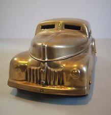Metal Industrial Sedan Automobile Cosmetic Art Deco Tobacco Storage Box Car