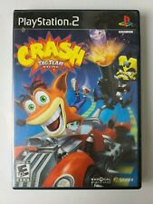 Crash: Tag Team Racing Sony PlayStation 2, 2005 PS2Black Label Complete in Box