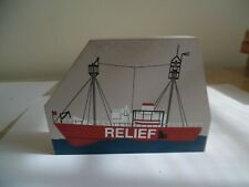 The Cat's Meow 1994 Relief ship signed faline 94