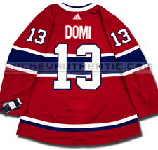 MAX DOMI MONTREAL CANADIENS HOME AUTHENTIC PRO ADIDAS NHL JERSEY