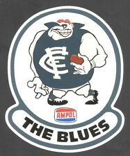 THE BLUES & AMPOL promo Vinyl Decal Sticker CARLTON VFL AFL PETROL