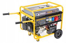 Powermat Power Generator Aggregate 7.5 kW 230V 400V 12V AVR 15HP Petrol Battery!