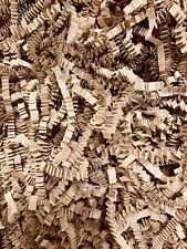 Zickzack Shredded Papier Crinkle Cut braun natürliche Kraft Geschenk Korb Shred Filler