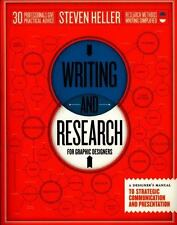 Writing and Research for Graphic Designers: A Designer's Manual to Strategic Com