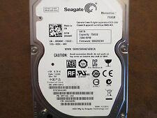 """Seagate ST9750420AS 9RT14G-031 FW:0002DEM1 SU 750gb 2.5"""" Sata HDD"""