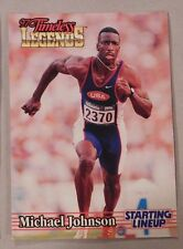 Starting Lineup Michael Johnson Olympic Card