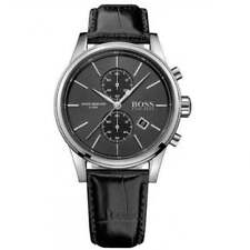 Hugo Boss 1513279 Black Leather Chronograph Men's Watch