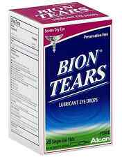Bion Tears Lubricant Eye Drops Single Use Vials 28 ea (Pack of 3)