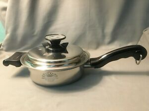PRO HEALTH ULTRA 1.5 Qt Skillet 19-9-7P Stainless Steel Magnetic Induction Core