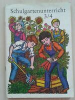 Schulgartenunterricht Klasse 3/4 Volk und Wissen DDR-Lehrbuch 1982